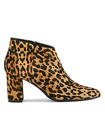 Aerosoles Katherine Leopard Printed Calf-Hair Boot