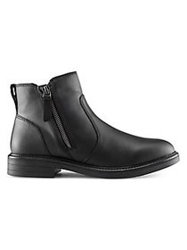 Cougar Harley Leather Booties BLACK
