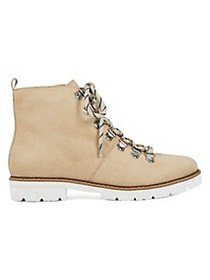 Aerosoles Portville Leather Lace-Up Boots BONE