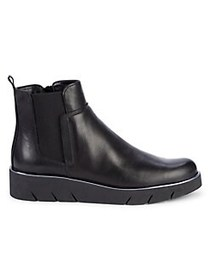 The Flexx Camden Leather Ankle Boots BLACK