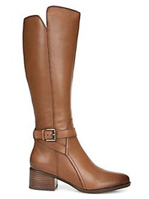 Naturalizer Premium Demetria Leather Mid-Calf Boot