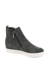 Blondo Giselle Waterproof Suede Booties GREY