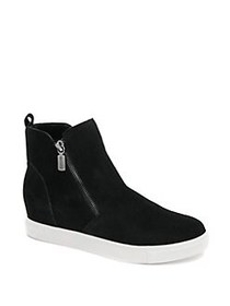 Blondo Giselle Suede Waterproof Booties BLACK