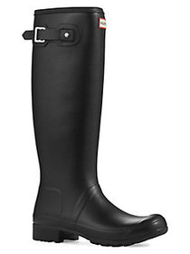 Hunter Original Tall Tour Rain Boots BLACK