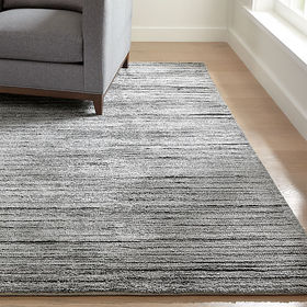 Crate Barrel Gabor Pewter Hand Woven Rug 8'x10'
