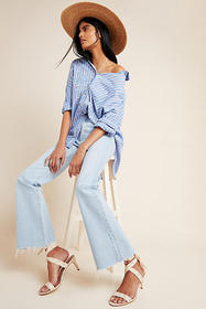 Anthropologie CQY Bliss High-Rise Bootcut Jeans
