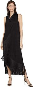 BCBGMAXAZRIA Knit Fringe Dress