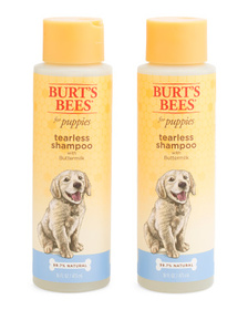 BURT'S BEES 2pc Tearless Puppy Shampoo & Condition
