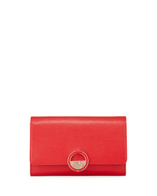 Versace Collection Small Saffiano Crossbody Bag Re