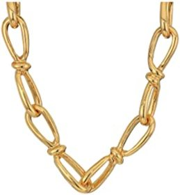 """Kenneth Jay Lane 34"""" Link Chain Necklace"""
