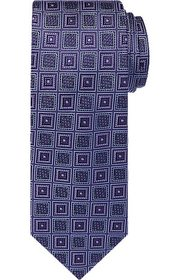 Jos Bank Reserve Collection Mosaic Check Tie