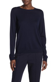 St. John Collection Crew Neck Wool Sweater