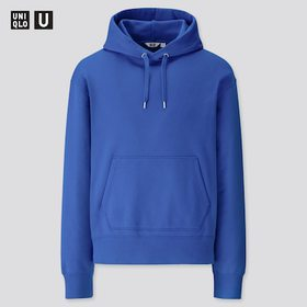 Men U Wide-Fit Long-Sleeve Sweat Pullover Hoodie,