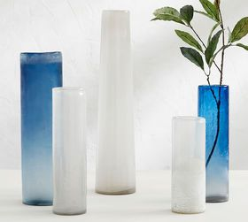 Pottery Barn Formentera Glass Vase Collection