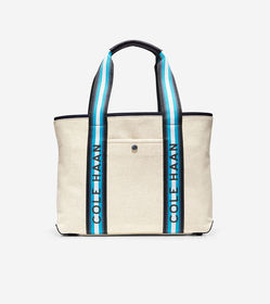 Cole Haan Summer Canvas Tote Bag