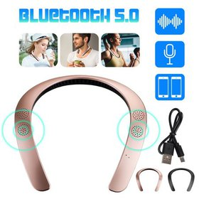 TSV Wearable Speaker, Bluetooth 5.0 Wireless Neckb