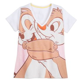 Disney Chip 'n Dale V-Neck T-Shirt for Women