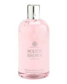 MOLTON BROWN 10oz Delicious Rhubarb And Rose Bath