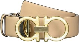 Salvatore Ferragamo Gancini Lining Adjustable Belt