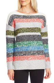 Vince Camuto L/S COLORBLOCK BOATNECK SWEATE