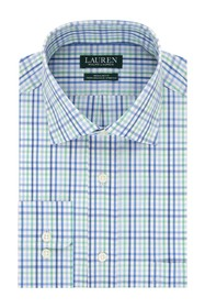 Lauren Ralph Lauren Regular Fit Stretch Plaid Dres