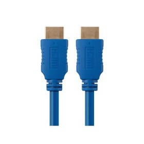 Monoprice High Speed HDMI Cable - 6 Feet - Blue, 4