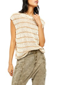 Free People Wave After Wave Sweater Top