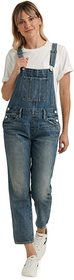 Lucky Brand Denim Boyfriend Overall in Assi