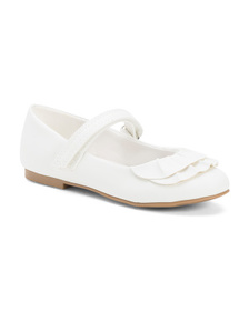 NINA Ruffle Mary Janes (Toddler)