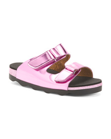 NINA Metallic Sandals (Little Kid, Big Kid)