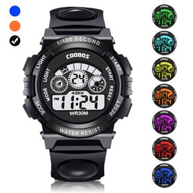Kids Digital Sport Watch, Boys Girls Waterproof Sp