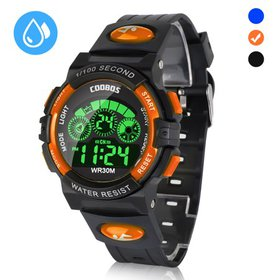 Kids Digital Watch for Girls Boys, Waterproof Spor