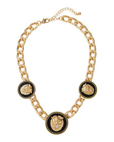 Natasha Accessories Limited Lion Head Necklace