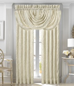 J. Queen New York Marquis Damask Window Treatments