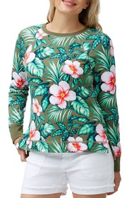 Tommy Bahama Floral Print Top