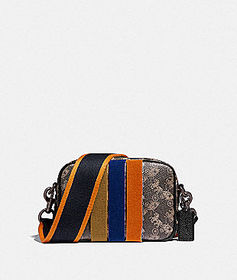 Coach camera bag 16 with horse and carriage print