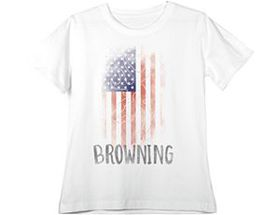 Browning® Women's Patriotic Short-Sleeve Tee Shirt