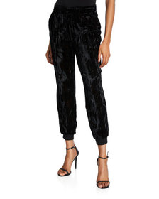 Alice + Olivia Pete Slouchy Pull-On Pants