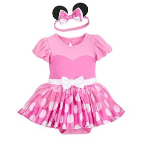 Disney Minnie Mouse Costume Bodysuit for Baby – Pi