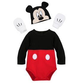 Disney Mickey Mouse Costume Bodysuit Set for Baby