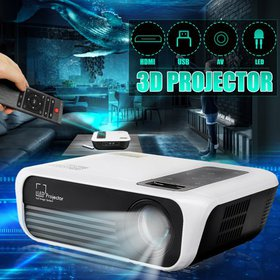T8 3D Full HD Projector Portable Mini 1080P Home T