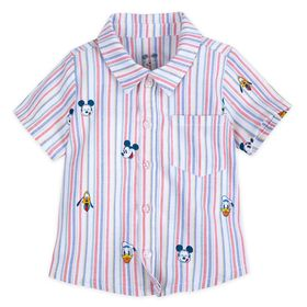 Disney Mickey Mouse and Friends Summer Fun Woven S