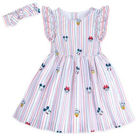 Disney Mickey Mouse and Friends Summer Fun Woven D