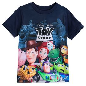 Disney Toy Story Cast and Logo T-Shirt for Boys