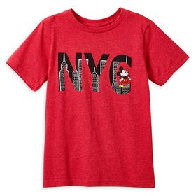 Disney Mickey Mouse NYC T-Shirt for Boys – New Yor