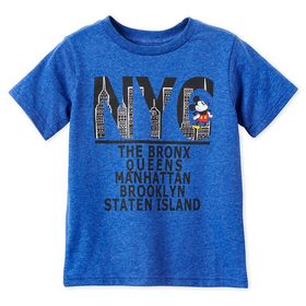 Disney Mickey Mouse New York Boroughs T-Shirt for