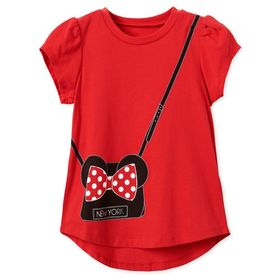 Disney Minnie Mouse Purse T-Shirt for Girls – New