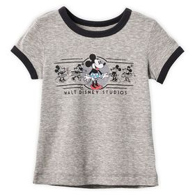 Disney Minnie Mouse Ringer T-Shirt for Girls – Wal