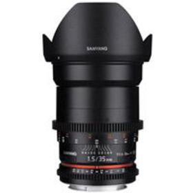 Samyang 35mm T1.5 Cine DS Wide-Angle Lens for Cano