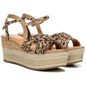 Womens Fergalicious Pardy Platform Wedge Sandals